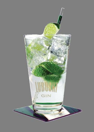 Gin Lubuski LIME & TONIC